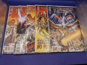 IDW Comics Transformers Maximum Dinobots 1-5 Complete Series