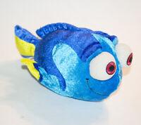 "Disney Store Finding Dory Pixar Plush 8.5"" Stuffed Animal Blue Fish"