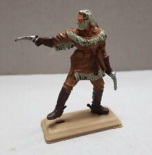 rare BUFFALO BILL  plastic toy soldier Vintage figure FAR WEST 1:32