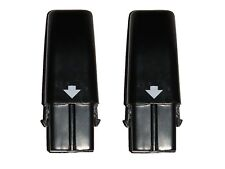 2PCS OF BRAND NEW BLACK SWIVEL SWEEPER HIGH CAPACITY NiHM RECHARGEABLE BATTERIES