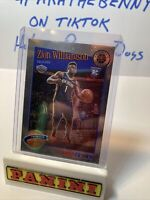 2019-20 Panini Nba Hoops Premium Zion Williamson Tribute Base Rookie Card Rc