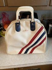 Vintage AMF Bowling Ball Bag Red, White & Blue