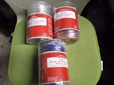Holiday 18 FT Crystallized Rope Light Assorted Color Clear, Blue and Red 19 FT L
