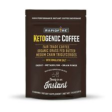 Rapid Fire Ketogenic High Performance Instant Coffee Mix, Supports Energy and...