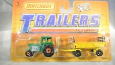 Matchbox Trailers TP108 - TRACTOR and TRAILER  -  MOC - 1990