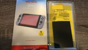 ZAGG Invisible Shield Glass Full Screen Protector For Nintendo Switch-  USED