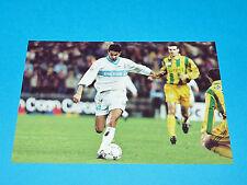 LUDOVIC ASUAR FC NANTES PHOTO PANINI FOOTBALL 1997-1998 OLYMPIQUE MARSEILLE OM