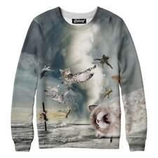 Cat Tornado Jumper Funny Cat Sweatshirt Handmade By USA Beloved