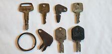 Vintage Construction Equipment Keys CAT Caterpillar John Deere 83357 Komatsu 787
