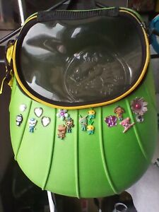 Crocs Miniature Backpack Green Yellow Smokey Grey Flap Octonauts Charms Vintage