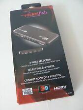 Rocketfish RF-G1185 4-Port HDMI Selector