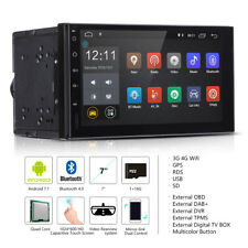 "ANDROID7.1 16GB GPS NAVIGATORE DOPPIO 2DIN AUTORADIO QUAD CORE WiFi 7"" BLUETOOTH"