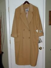 Vtg 80'S J Percy For Marvin Richards Camel Hair Coat From Bloomingdale'S