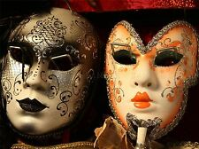 VENETIAN MASKS VENICE ITALY CARNIVALE ART PRINT POSTER PICTURE BMP1248A