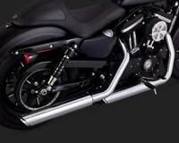 VANCE HINES TWIN SLASH 3-INCH SLIP-ONS - HARLEY DAVIDSON SPORTSTER XL883 XL1200