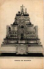 PC JUDAICA Temple de Salomon (a1023)