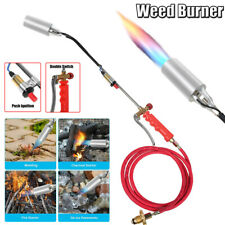 Portable Propane Torch Wand Weed Burner Ice Melter Push Button Igniter Amp79 Hose