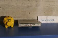 metal slug 3 neo geo mvs cart 100% original snk nmint holo label ivandjcarletti