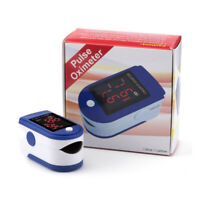 New Blue / Black Pulse Oximeter Finger Tip Pulse Oxygen Clip for Healthcare Test