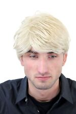 Wig Men's Mens short Teen Casual Fashionable Blonde Parting GFW967-22