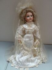 "The Bebe Steiner large""Victorian Heirloom Bride Doll     21 ""  tall"