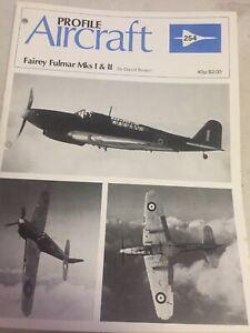 Aircraft Profile 254 Fairey Fulmar Mks I & II Profile Publications