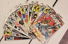 GI Joe ARAH Marvel Comics lot of 15 issues 1-18 No Reserve!
