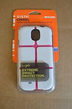 Incase System Chisel White / Pink Samsung Galaxy S4 Flexible Hard Shell SY10071