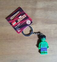 NEW LEGO MARVEL SUPERHEROES HULK MINIFIGURE KEYCHAIN BRAND NEW