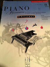 Piano Adventures Christmas Book, Level 2A Nancy & Randall Faber Paperback
