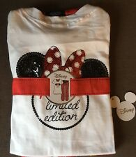 New Ladies Primark Disney Minnie Mouse Ltd EDT Pyjamas Pyjamas Top Bottoms 14 16