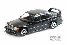 Mercedes-Benz 190 E 2.5-16V EVO II 1990 Blau Schwarz Metallic1:18 Minichamps NEU