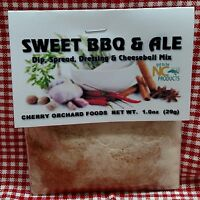 Sweet BBQ & Ale Dip Mix, makes dips, spreads, cheese balls &salad dressings