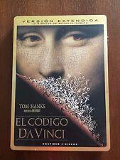 EL CODIGO DA VINCI VERSION EXTENDIDA EDICION STEELBOOK - 2 DVD CON EXTRAS - RARO