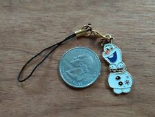 New Frozen's Olaf #6 Enamel Cell Phone Charm Strap