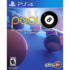 Pure Pool PS4 Console Video Game Supply Christmas Holiday Gift Ideas for Kids