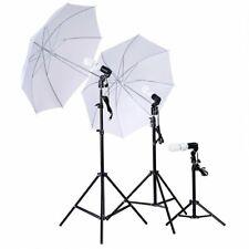 White Daylight Umbrella Professional Photo Video Equipment Studio Lighting Kit