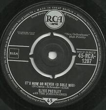 ELVIS PRESLEY - IT'S NOW OR NEVER (O SOLE MIO) / MAKE ME KNOW IT