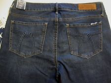 SEVEN 7 WOMEN'S SKINNY JEAN Sz 12 Blue Denim