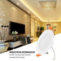 AC 85-265V SMD 2835 LED Ceiling Down Lamp Radar Motion Sensor Light Downlight
