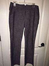 NEW WT Takara Brand Women's 11 Grey/Black Dress Slacks/ Pants