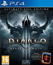 Diablo III 3 Reaper of Souls Ultimate Evil Edition Ps4 Game