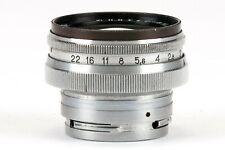 JUPITER-8 M 2/50mm 1:2 50mm schwarz Kiev Contax Objektiv