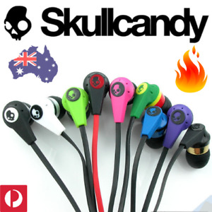 🔥 SKULLCANDY INK'D Inkd Wired EARBUDS Earphones MIC 3.5mm iPhone Samsung