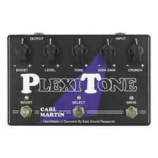Carl Martin PlexiTone Overdrive Distortion 3-Ch High-Gain Guitar Effects Pedal