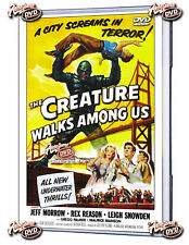 THE CREATURE WALKS AMONG US  DVD 1956 Jeff Marrow, Rex Reason