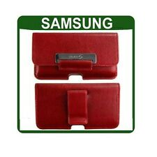 ORIGINALE Samsung GALAXY S GT i9000 CUSTODIA IN PELLE ORIGINALE SMARTPHONE POUCH COVER
