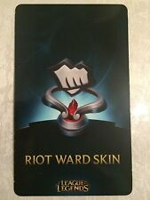 League of Legends lol Fist Bump Riot Ward Skin Code EUW EU WEST