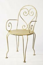 Wrought Iron Chair With Arms