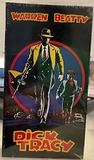Dick Tracy (Vhs, 1990) Factory Sealed Vhs Tape Rare Mint Madonna Get it Graded